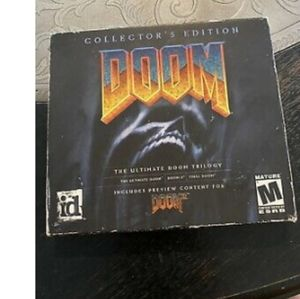 Doom trilogy collectors edition 2003   PC